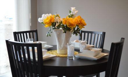 5 gode grunde til hvorfor du skal vælge et rundt spisebord