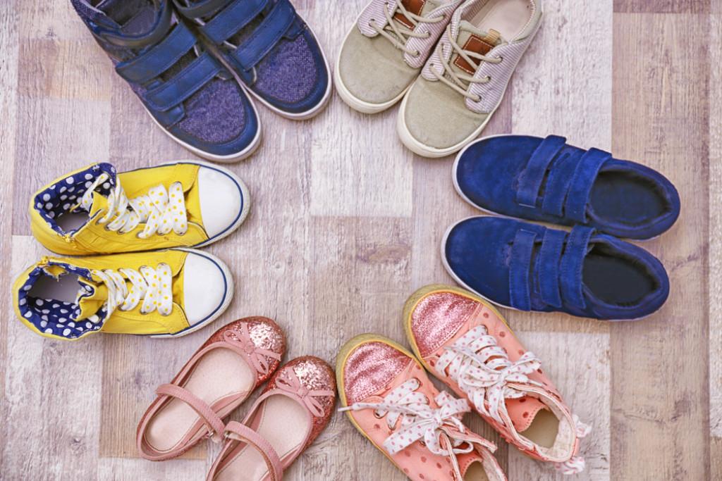 Find de bedste sko til dine børn