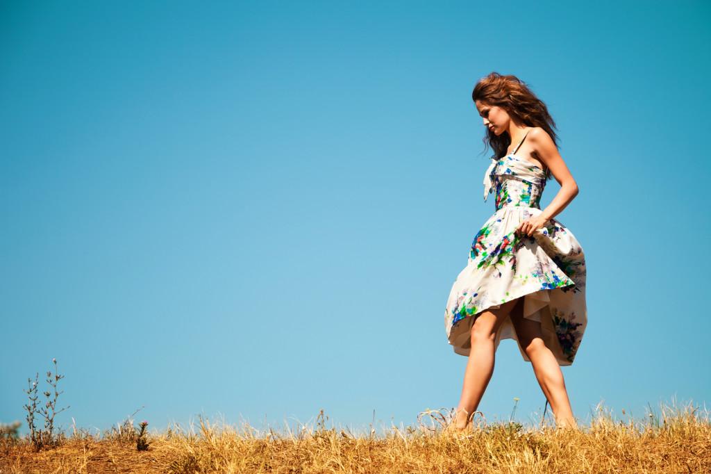 Sommerkjoler er ikke til at komme udenom i sommerens mode